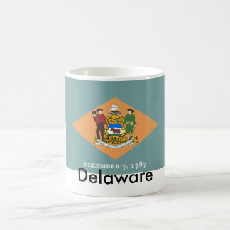 Delaware State Flag Mug