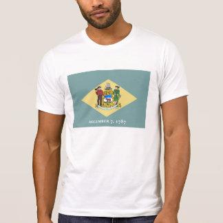 Delaware state flag usa united america symbol T-Shirt