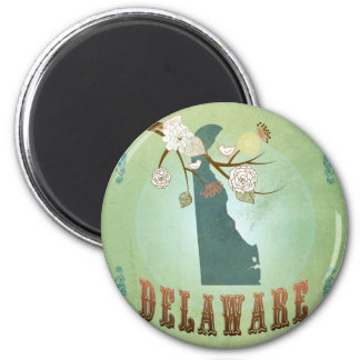 Delaware State Map – Green Magnet