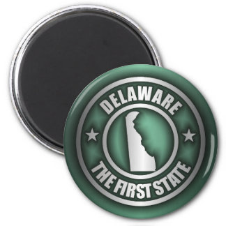 """Delaware Steel"" Magnets (Green)"