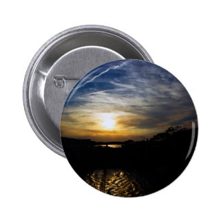 Delaware Sunset 6 Cm Round Badge