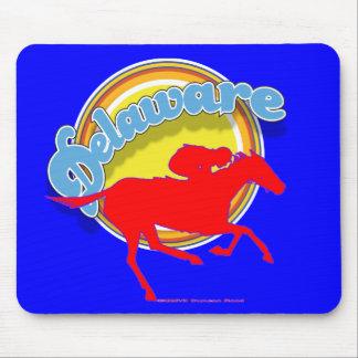 Delaware swoopRace mousepad