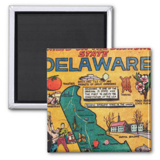 Delaware the Diamond State Magnet