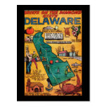 Delaware the Diamond State Post Card