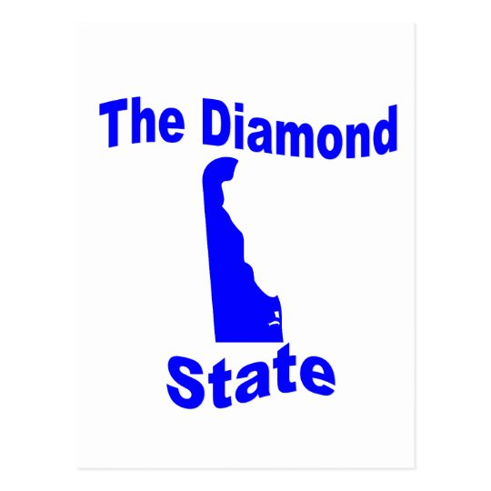 Delaware: The Diamond State Postcard