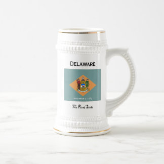 Delaware The First State Beer Stein Mugs