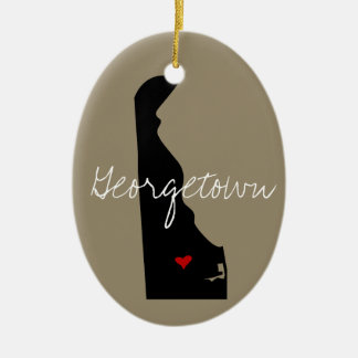 Delaware Town Christmas Ornament