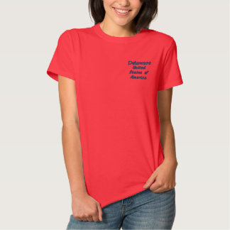 Delaware United States of America Polo Shirt