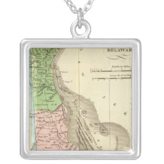 Delaware US Silver Plated Necklace