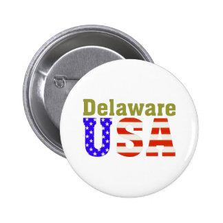 Delaware USA! 6 Cm Round Badge