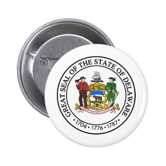 Delaware, USA Pinback Buttons