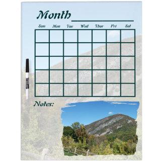 Delaware Water Gap Calendar Dry Erase Board