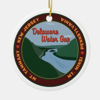 Delaware Water Gap Christmas Ornament