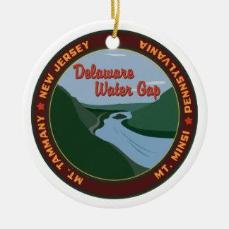 Delaware Water Gap Christmas Ornament