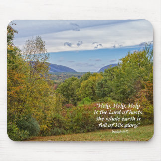 Delaware Water Gap Mountains Christian Mouse Mat