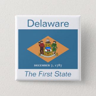 Delawarean Flag Button