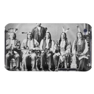 Delegation of Sioux chiefs, led by Red Cloud (1822 iPod Case-Mate Case