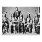 Delegation of Sioux chiefs, led by Red Cloud (1822 Postcard