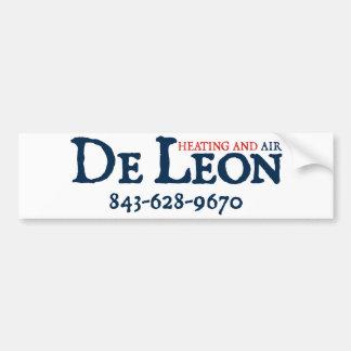 DeLeon bumper sticker