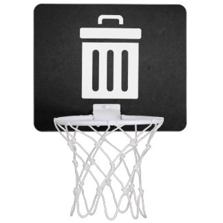 Delete Bins Icon Mini Basketball Hoop