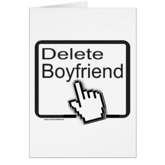 DELETE BOYFRIEND T-SHIRTS AND GIFTS CARDS