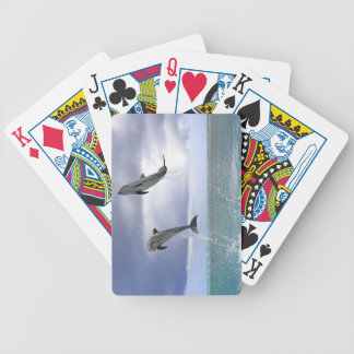 Delfin,Delphin,Grosser Tuemmler,Tursiops 2 Bicycle Playing Cards