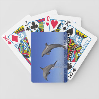 Delfin,Delphin,Grosser Tuemmler,Tursiops 3 Bicycle Playing Cards