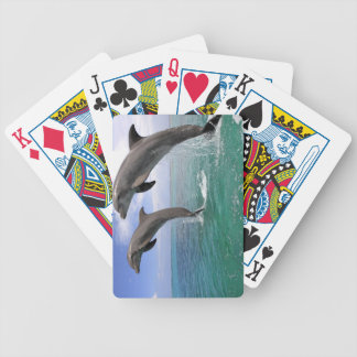 Delfin,Delphin,Grosser Tuemmler,Tursiops 4 Bicycle Playing Cards