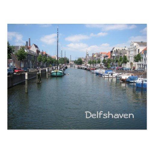 Delfshaven Post Card