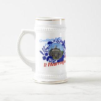 Delft Blue Fryslân It Hearrenfean Beer Stein