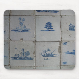 Delft Blue Tiles Mousepad