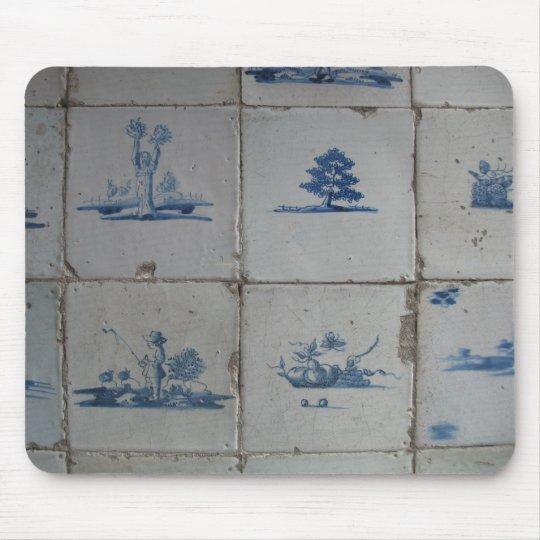 Delft Blue Tiles Mousepad