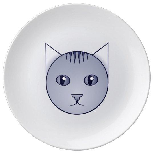 Delft Cartoon Tabby Decorative Plate