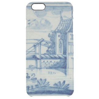 Delft tile showing a drawbridge over a canal, 19th clear iPhone 6 plus case