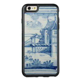 Delft tile showing a drawbridge over a canal, 19th OtterBox iPhone 6/6s plus case