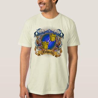 Delgado Family Crest T-Shirt