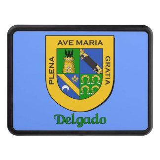 Delgado Family Shield Tow Hitch Cover