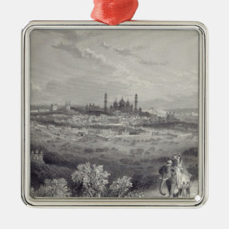 Delhi, engraved by Edward Paxman Brandard Christmas Ornament