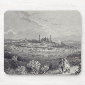 Delhi, engraved by Edward Paxman Brandard Mouse Mat