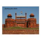 delhi fort postcard