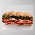 Deli sandwich print