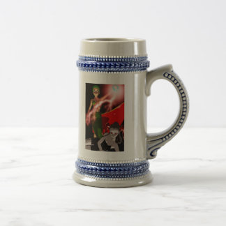 Delia and Cecil possessed Stien Beer Steins