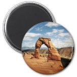 Delicate Arch, Arches National Park, Utah 6 Cm Round Magnet