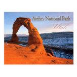 Delicate Arch, Arches National Park, Utah Postcard