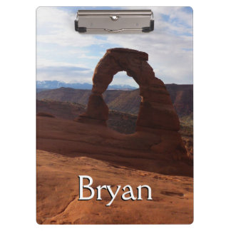 Delicate Arch I at Arches National Park Clipboard