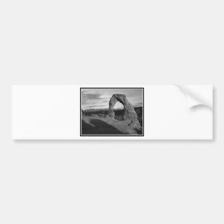 Delicate Arch Tone Bumper Sticker