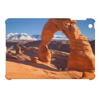 Delicate Arch With The Lasalle Mountains Beyond iPad Mini Case