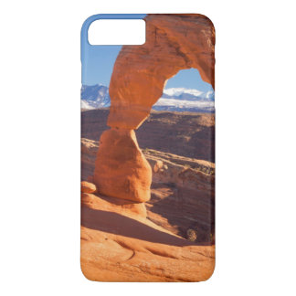Delicate Arch With The Lasalle Mountains Beyond iPhone 8 Plus/7 Plus Case