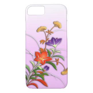 Delicate autumn flowers iPhone 8/7 case