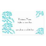 Delicate Blossoms (Aqua)
